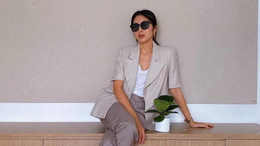 Blazer, áo khoác mỏng thống trị street style sao Việt ngày se lạnh