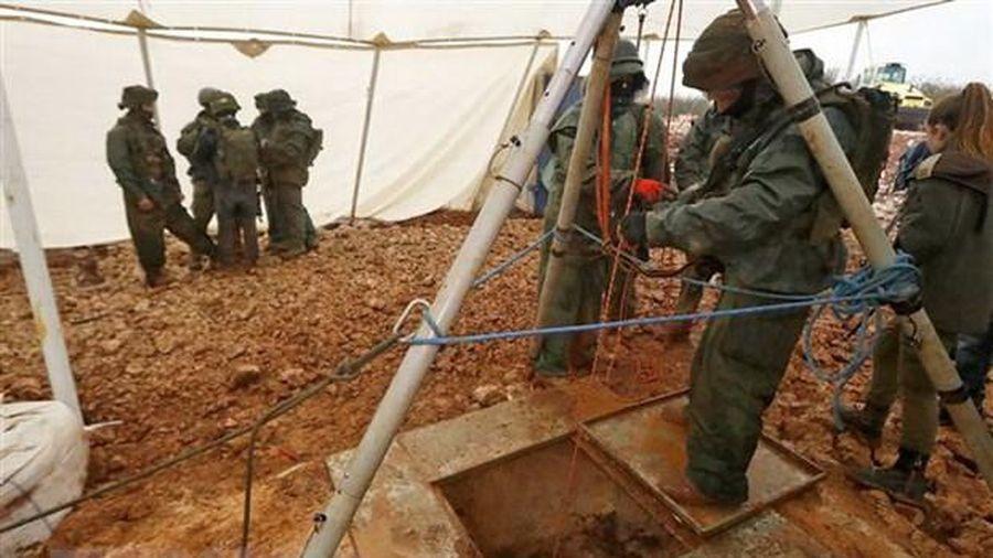 Israel phát hiện đường hầm xuyên biên giới từ Gaza
