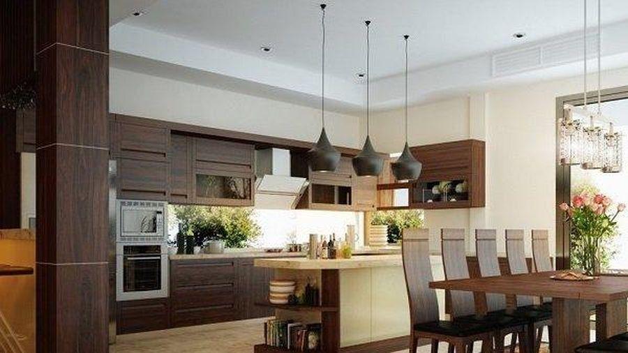 Thiết kế phòng khách và bếp liền kề sao cho hợp phong thủy?