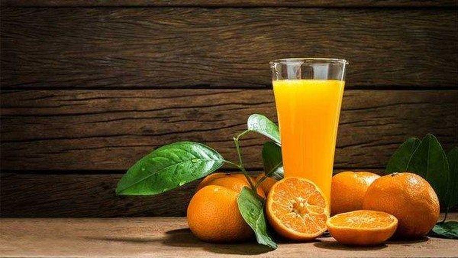 Nước cam không phải thực phẩm lành mạnh