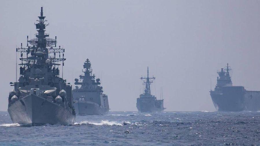 Bộ tứ Australia -Ấn-Nhật-Mỹ sắp tập trận hải quân quy mô lớn