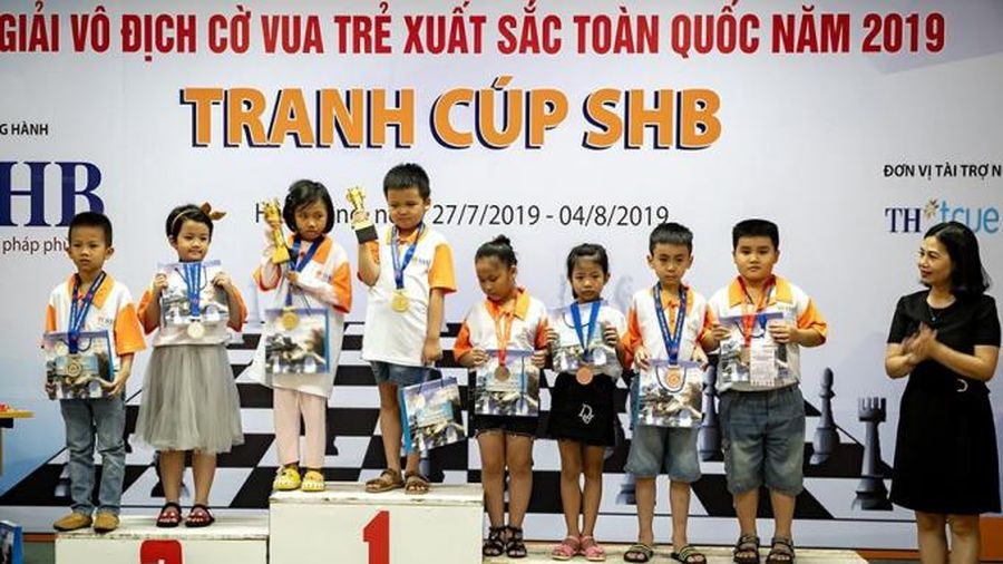 GIẢI CỜ VUA TRẺ XUẤT SẮC TOÀN QUỐC NĂM 2020 CÚP SHB: Nơi phát hiện và ươm mầm những 'hạt giống vàng' của cờ vua Việt Nam