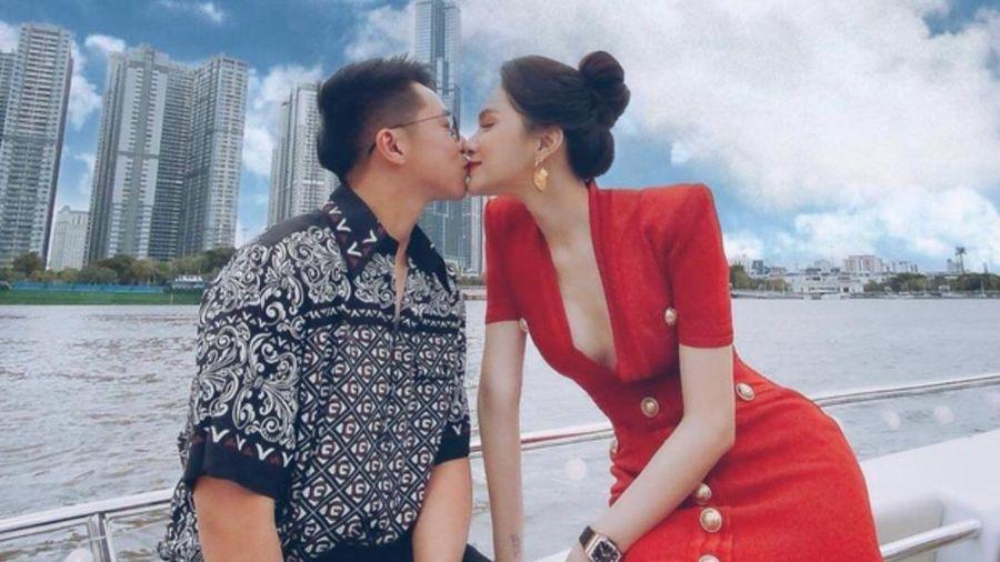 Chuyện tình ngọt như kẹo Alpenliebe của nàng hậu Hương Giang và Matt Liu