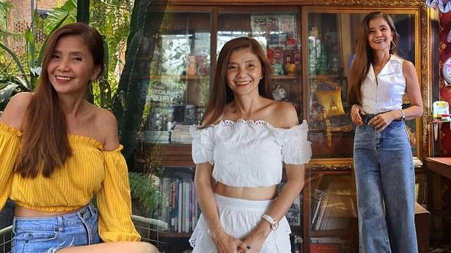 Bà ngoại Thái Lan U60 mặc toàn đồ 'cộp mác' tuổi teen