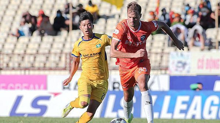 Thay đổi giờ thi đấu Vòng 4 giai đoạn 2 LS V.League