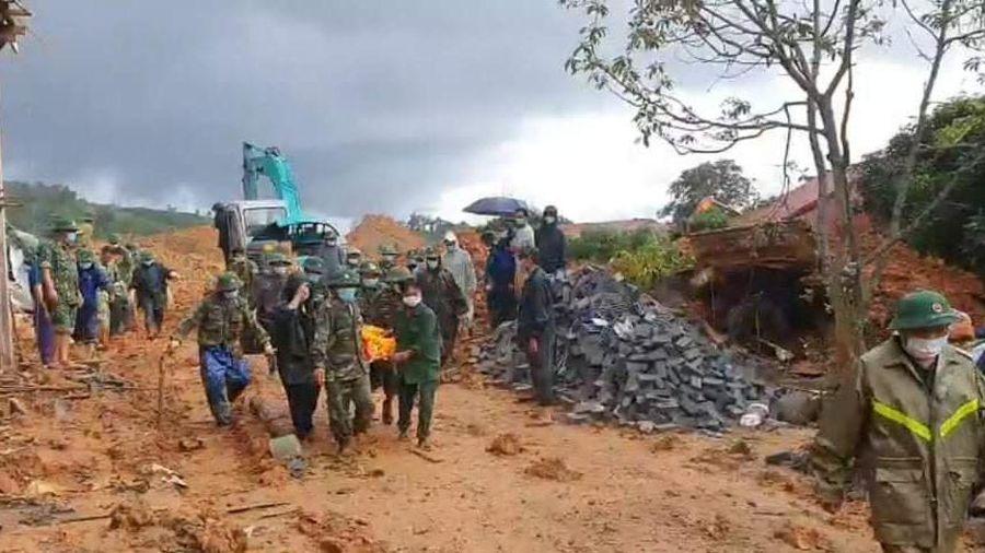 Cấp Bằng Tổ quốc ghi công cho 22 cán bộ Đoàn 337 hy sinh khi làm nhiệm vụ khắc phục hậu quả mưa lũ