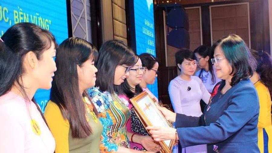 Tiếp tục tuyên truyền, vận động hội viên phụ nữ xây dựng gia đình hạnh phúc, bền vững