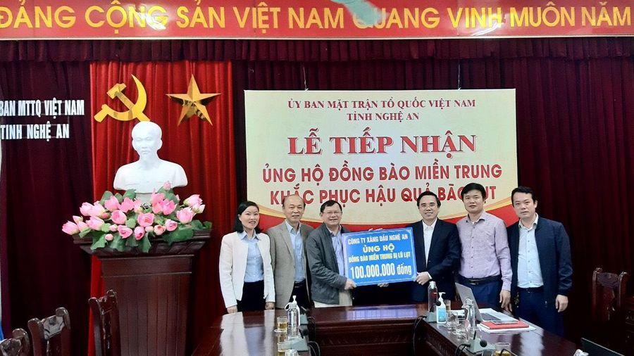 Petrolimex Nghệ An: Chung tay chia sẻ khó khăn với đồng bào miền Trung