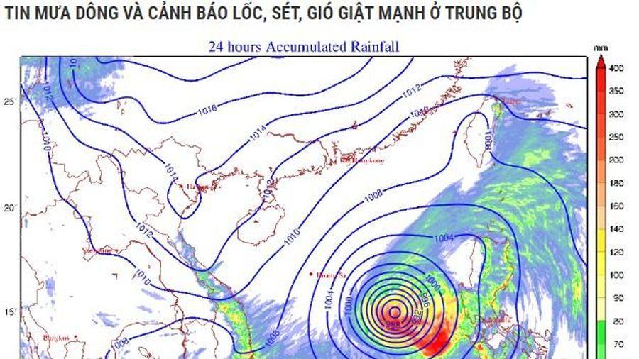 Lũ khẩn cấp ở các tỉnh miền Trung từ Quảng Nam đến Quảng Bình