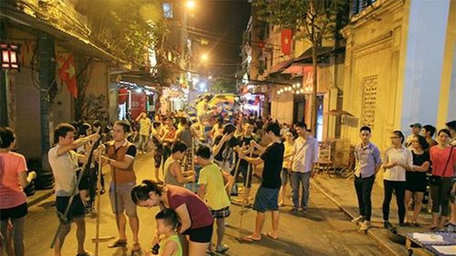 Xây dựng sân chơi, không gian công cộng trong khu phố cổ Hà Nội