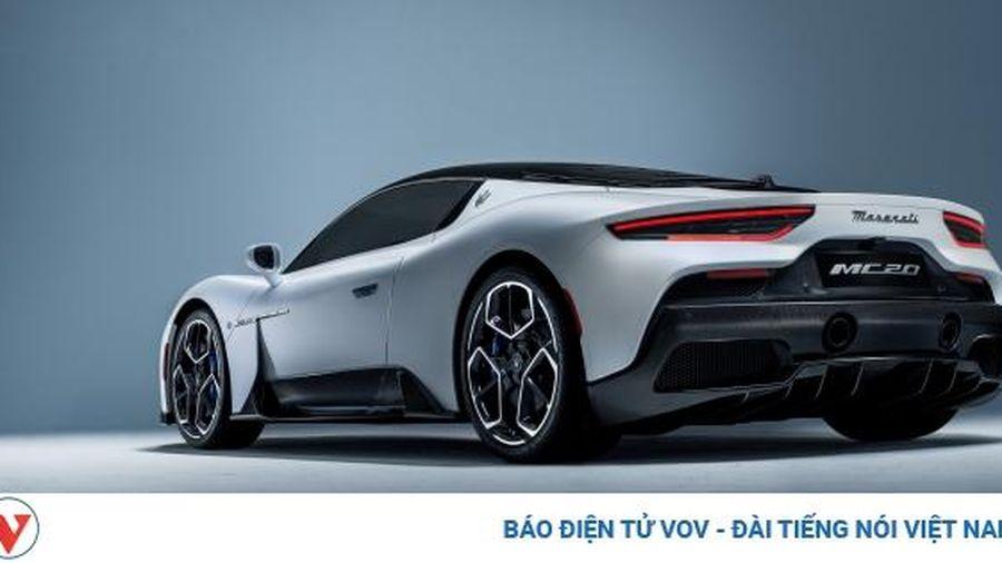 Siêu xe Maserati MC20 2021 giá cao ngất ngưởng vẫn 'cháy hàng'