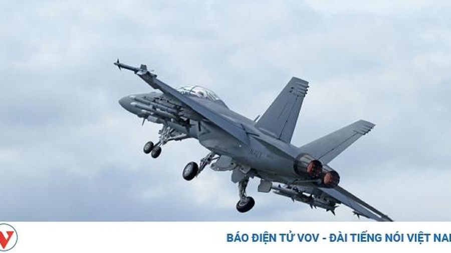 Tiêm kích F/A-18E Super Hornet của Hải quân Mỹ rơi tại California
