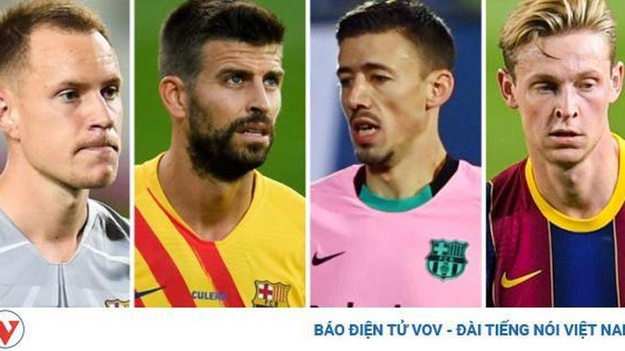 Barca 'trói chân' 4 công thần sau trận thắng đậm Ferencvaros