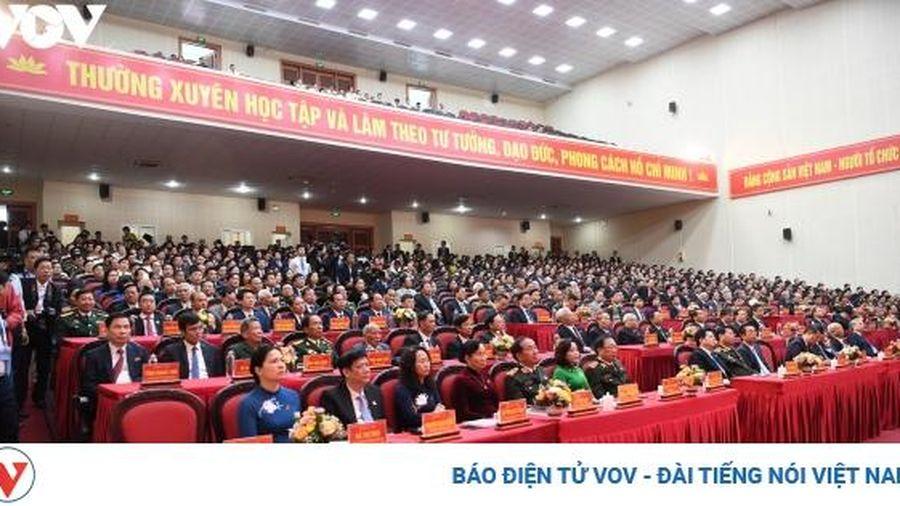 Khai mạc Đại hội Đảng bộ tỉnh Ninh Bình lần thứ XXII, nhiệm kỳ 2020-2025