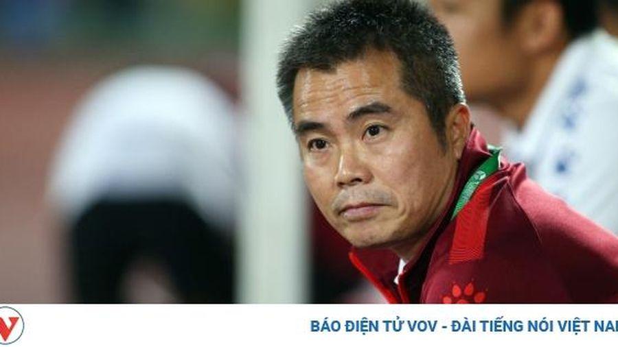 HLV Phạm Minh Đức không phục khi Hà Tĩnh thua Hà Nội FC