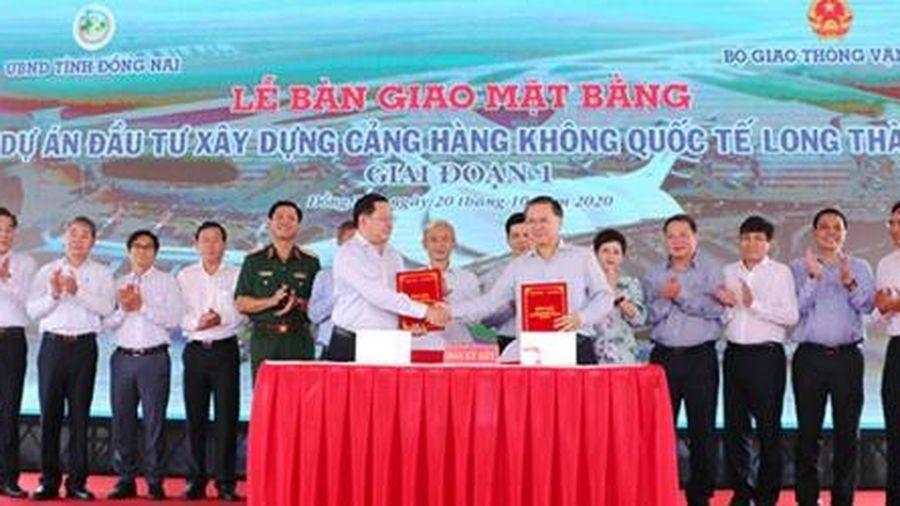 Đồng Nai bàn giao gần 2,6 ngàn ha đất 'sạch' cho Dự án Sân bay Long Thành