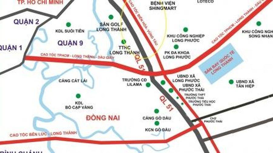 Đề xuất đầu tư 19.012 tỷ đồng xây 53,7 km cao tốc Biên Hòa - Vũng Tàu