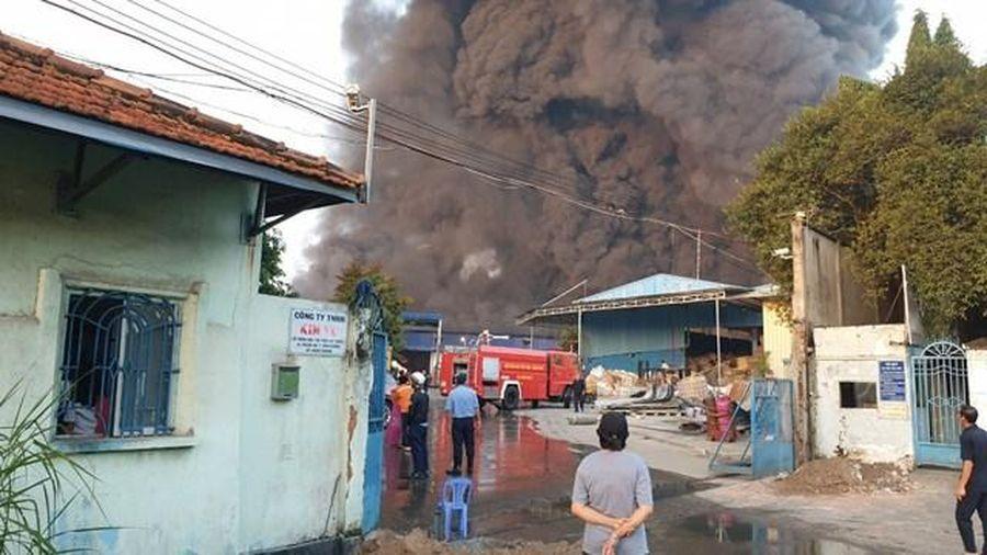 Bình Dương: Cháy lớn tại thành phố Thuận An