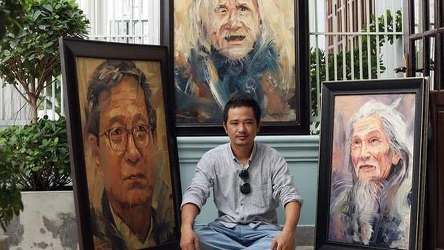 51 bức chân dung của người nổi tiếng trong 'Vọng'