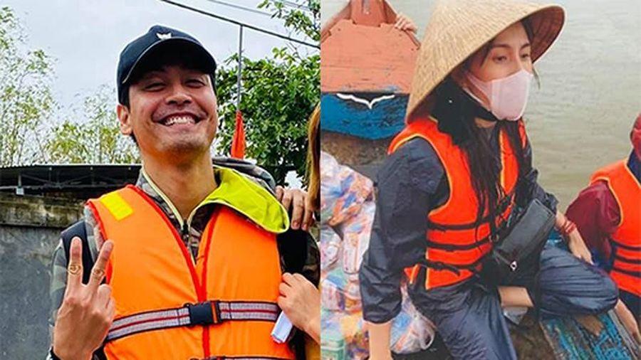 MC Phan Anh nhắn nhủ Thủy Tiên đừng sợ khi từ thiện miền Trung