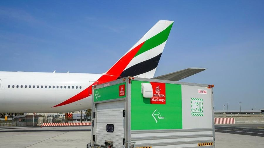 Emirates SkyCargo duy trì chuỗi cung ứng lương thực trong thời kỳ Covid-19