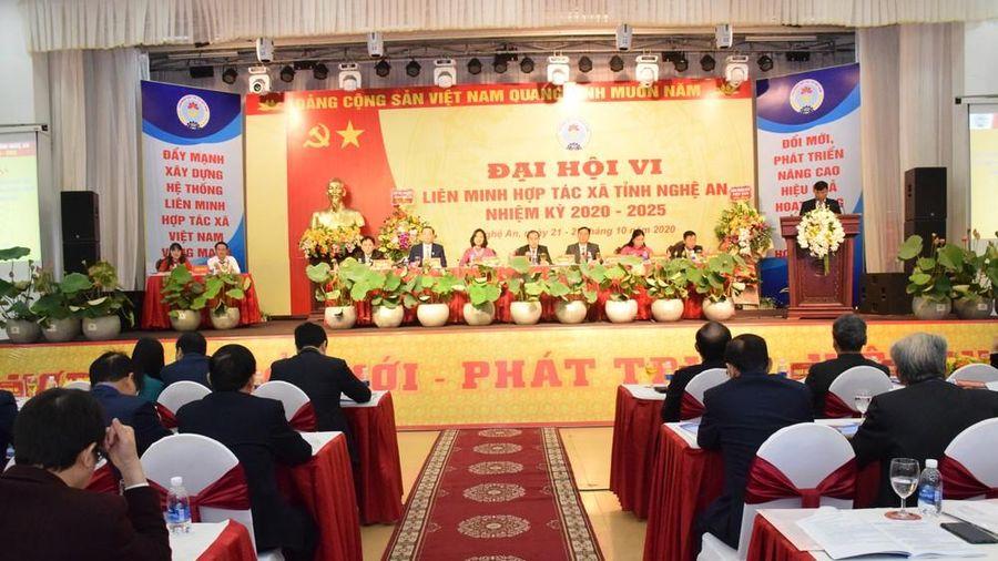 Đồng chí Nguyễn Bá Châu tái đắc cử Chủ tịch Liên minh Hợp tác xã tỉnh Nghệ An