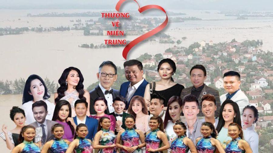 Chương trình nghệ thuật thiện nguyện 'Thương về miền Trung'