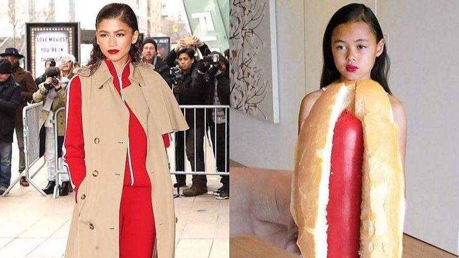 Cô bé nổi danh nhờ tài cosplay trang phục sao Hollywood bằng đồ ăn, giấy vệ sinh