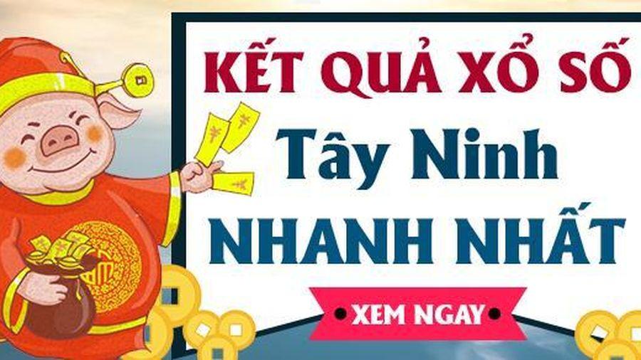 XSTN 22/10 - Kết quả xổ số Tây Ninh hôm nay thứ 5 ngày 22/10/2020