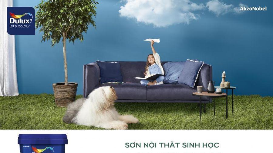 Dulux của AkzoNobel ra mắt giải pháp sơn với tính năng thanh lọc không khí trong nhà