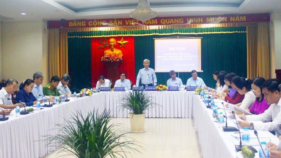 Thống nhất các nội dung tại kỳ họp HĐND tỉnh cuối năm