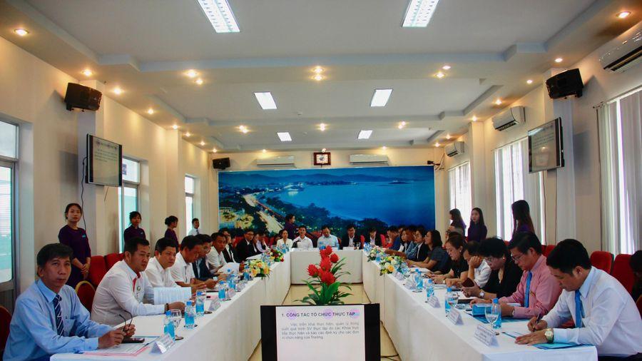Trường Cao đẳng Du lịch Nha Trang triển khai thực tập cho học sinh, sinh viên