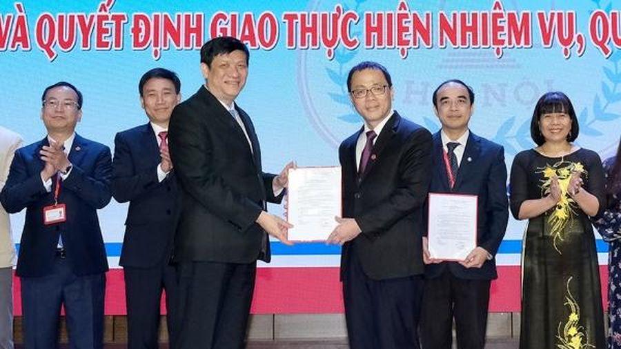 Công bố quyết định công nhận Hội đồng trường và Chủ tịch Hội đồng trường Đại học Y Hà Nội