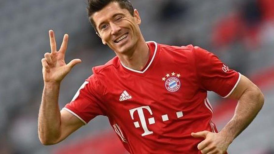 Lewandowski lập hat-trick, Bayern Munich dễ dàng đè bẹp đối thủ 5 bàn trắng
