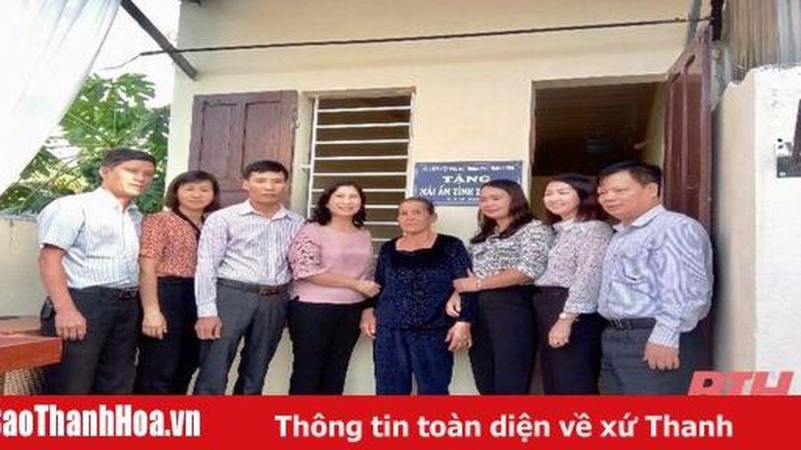 TP Thanh Hóa: Bàn giao nhà mái ấm tình thương cho hội viên phụ nữ nghèo