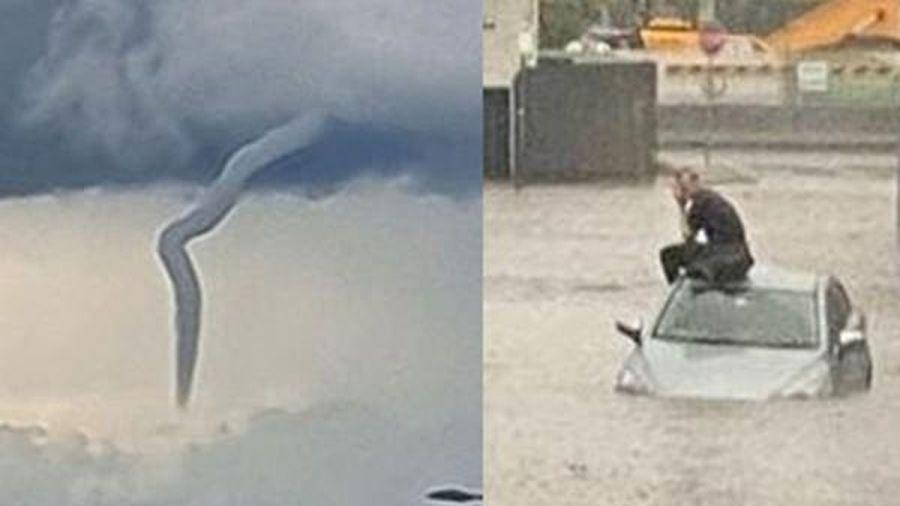 Bão lớn dường như đang ở khắp nơi: 'Mây xoắn thừng' ở Úc, cảnh báo cực nguy hiểm ở Anh