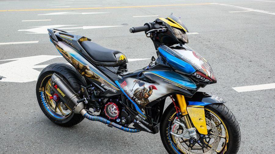 Cận cảnh chiếc Yamaha Exciter với gói độ 300 triệu đồng