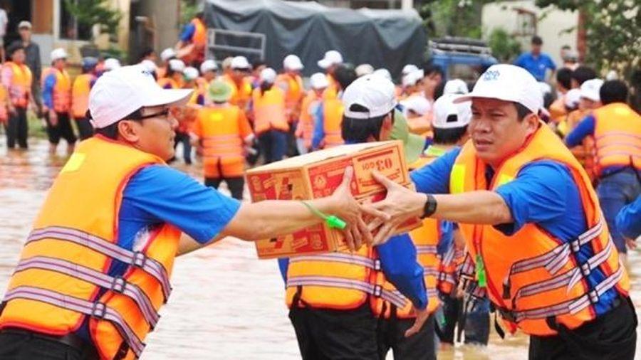 Huyện Mê Linh kêu gọi được hơn 662 triệu đồng ủng hộ đồng bào vùng lũ miền Trung