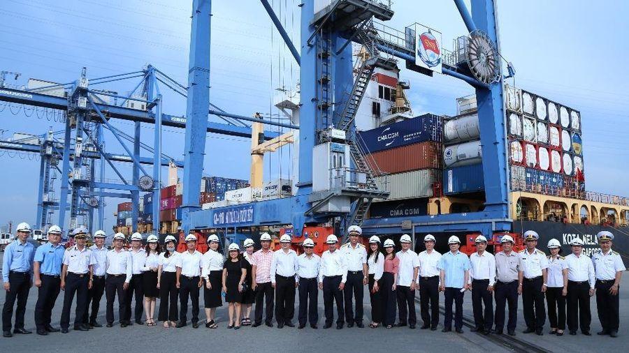 TAND cấp cao tại TP HCM thăm, làm việc tại Tổng Công ty Tân Cảng Sài Gòn