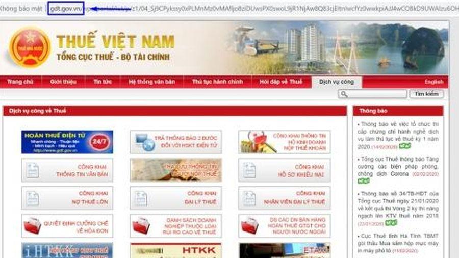 Tổng cục Thuế hỗ trợ khai hồ sơ dự thi công chức trực tuyến