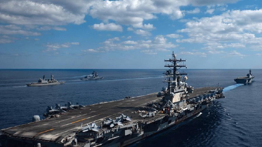 Mỹ - Nhật Bản rầm rộ tập trận bảo vệ đảo tranh chấp với Trung Quốc