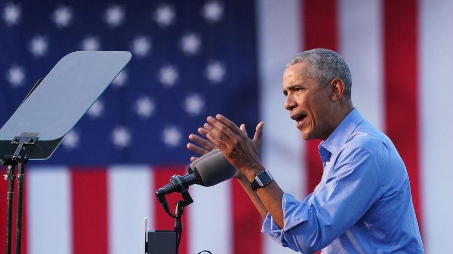 Ông Obama 'xung trận' ngoạn mục