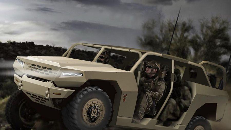 Xe quân sự của Kia sẽ tiện nghi như ôtô du lịch