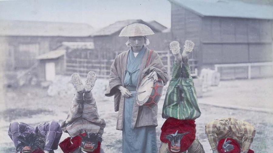 Ảnh màu tuyệt đẹp Nhật Bản hơn 100 năm trước