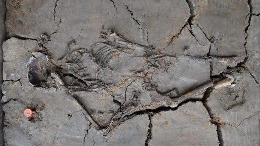Mẹ ôm con suốt 6.000 năm trong mộ cổ