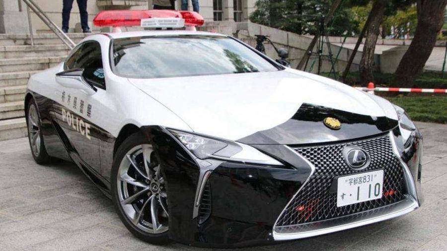 Lexus LC 500 được cảnh sát Nhật dùng làm xe tuần tra giao thông