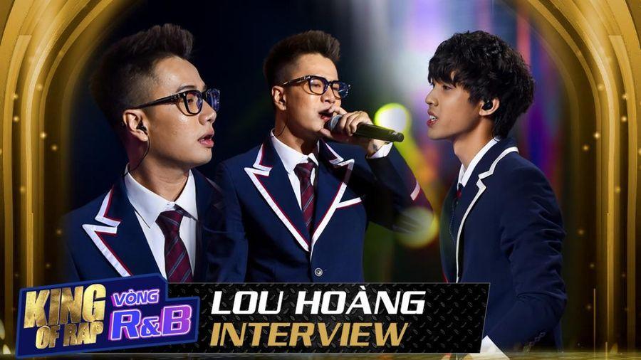 Lou Hoàng công nhận Nhật Hoàng là tài năng triển vọng, có thể trở thành 'Wonderkid' của Rap Việt Nam