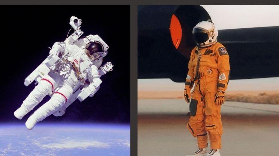 Vì sao phi hành gia lúc mặc đồ màu trắng, khi mặc đồ màu cam ngoài vũ trụ?