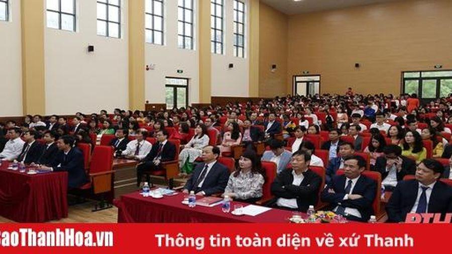 Trường Đại học Hồng Đức khai giảng năm học mới 2020-2021