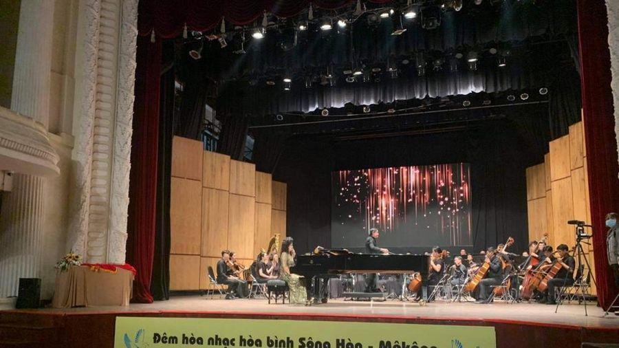 Đêm hòa nhạc hòa bình Sông Hàn – Sông Mekong góp phần thắt chặt tình hữu nghị Việt Nam - Hàn Quốc